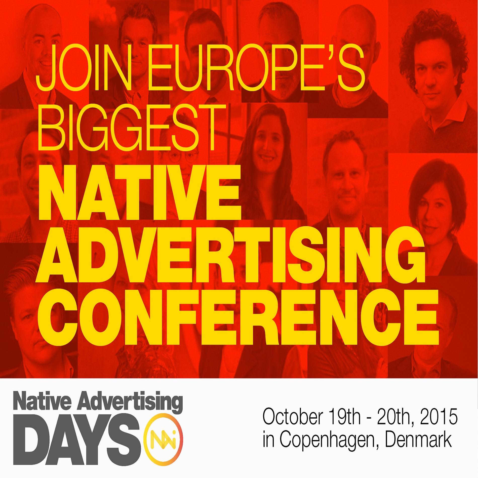 Native Advertising Days – poznaj metody najlepszych w branży
