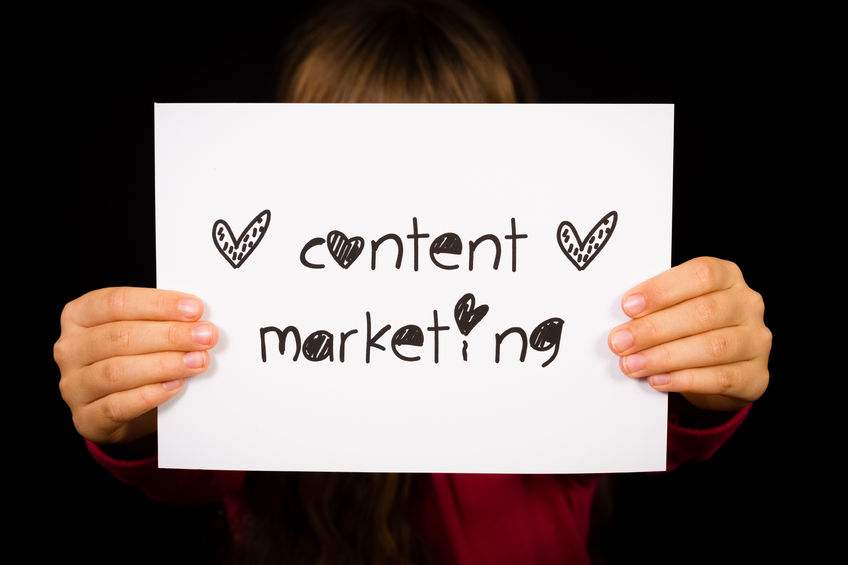 content marketing ikona wpisu