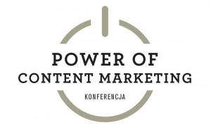 logo konferencji power of content marketing