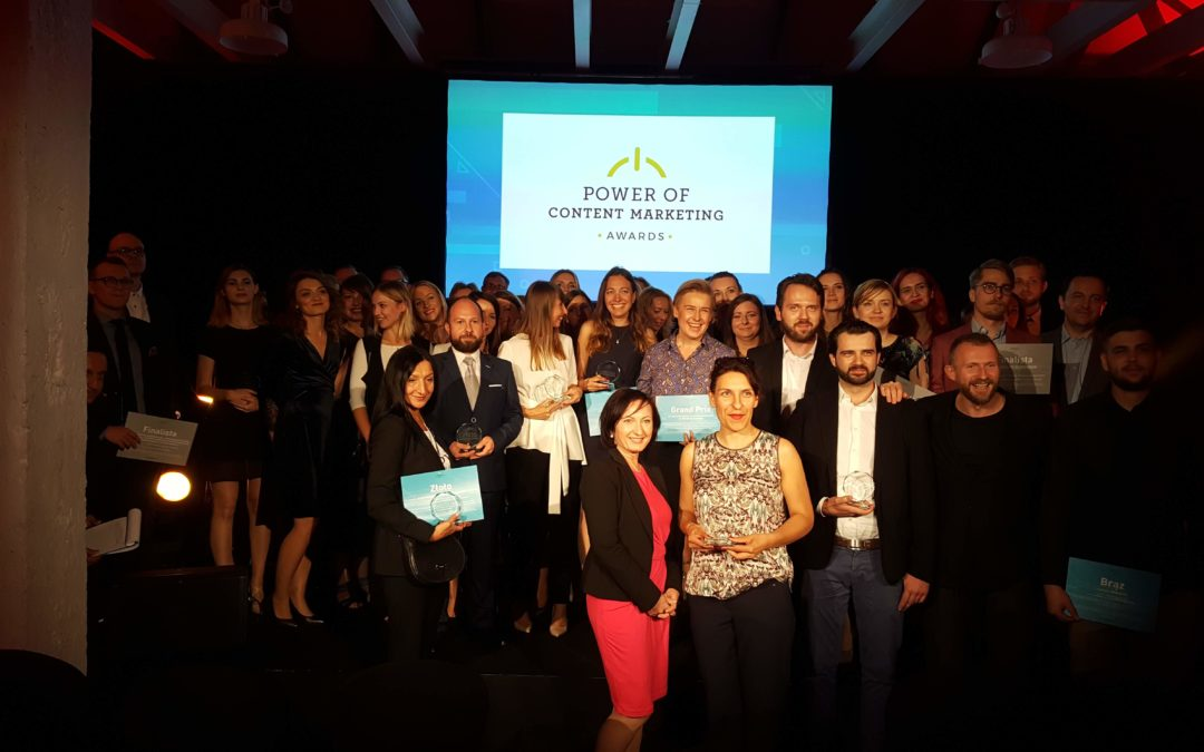 Power of Content Marketing Awards – znamy nagrodzone projekty!